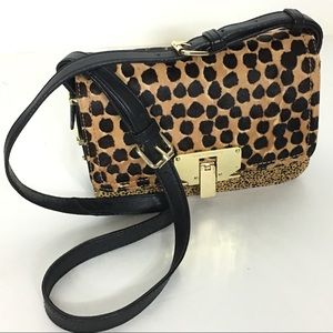 Vince Camutto Leopard Crossbody